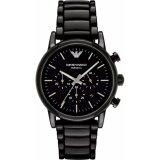 โปรโมชั่น นาฬิกาข้อมือสุภาพบุรุษ Emporio Armani Mens Black Ceramic Bracelet Watch Ar1507 ใน กรุงเทพมหานคร