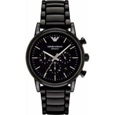 ส่วนลด นาฬิกาข้อมือสุภาพบุรุษ Emporio Armani Mens Black Ceramic Bracelet Watch Ar1507 Emporio Armani ใน กรุงเทพมหานคร
