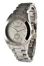 ขาย Emporio Armani นาฬิกาข้อมือผู้หญิง Silver สายสเตนเลส รุ่น Ar1463 ถูก