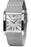 ซื้อ Emporio Armani นาฬิกาข้อมือผู้หญิง Silver สายสเตนเลส รุ่น Ar2015 ถูก ใน ไทย