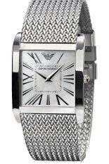 ทบทวน ที่สุด Emporio Armani นาฬิกาข้อมือผู้หญิง Silver สายสเตนเลส รุ่น Ar2015