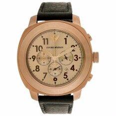ซื้อ นาฬิกาข้อมือผู้ชาย Emporio Armani Sportivo Chronograph สายหนัง Emporio Armani เป็นต้นฉบับ