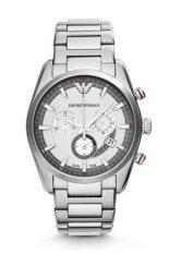 ราคา Emporio Armani Sportivo Men Watch Stainless Strap รุ่น Ar6036 Silver ที่สุด