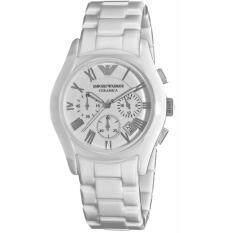 ขาย Emporio Armani Women S Ar1403 Ceramic White Ceramic Dial Watch ใน กรุงเทพมหานคร