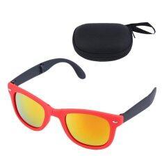 ราคา ยุคพับแว่นตากันแดดฤดูร้อนชายหาดกีฬาสวมใส่ Uv400 ทิศทาง Farer ด้วยสีแดงและสีแดง นานาชาติ ออนไลน์ Thailand