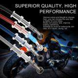 ขาย Era 60Cm Motorcycle Braided Steel Brake Clutch Oil Hose Pipe Tube For Racing Dirt Bike Silver ใหม่
