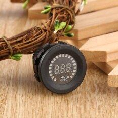 ซื้อ ยุคกันน้ำนาฬิกาดิจิตอลจอแสดงผลโวลต์มิเตอร์แรงดันไฟฟ้าสำหรับรถยนต์รถจักรยานยนต์สีดำ สนามบินนานาชาติ ออนไลน์ จีน