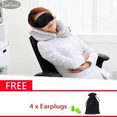 ขาย Esogoal 3D Sleep Mask น้ำหนักเบาสบายนอนหลับหน้ากากฝาครอบสำหรับการท่องเที่ยวสำหรับการนอนหลับทำสมาธิ Helper สำหรับชายและหญิง 4 ปลั๊กอุดหู ออนไลน์