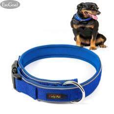 ราคา Esogoal ปลอกคอ มีโบว์ สีน้ำตาล สำหรับสุนัขและแมว Size M รอบคอ 16 20Inch นิ้ว ที่สุด