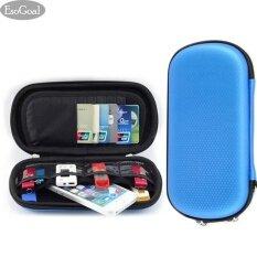 ขาย ซื้อ Esogoal Sd Card Usb Flash ฮาร์ดไดรฟ์ Case U Disk Universal แบบพกพากันน้ำกันกระแทกอุปกรณ์อิเล็กทรอนิกส์ Organizer สีดำ จีน