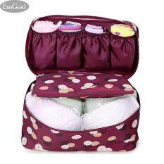 ราคา Esogoal กระเป๋าอเนกประสงค์เดินทาง ใส่อุปกรณ์อาบน้ำ เครื่องสำอาง แบบพกพา Wash Gargle Bag Waterproof Travel Hanging Organizer Bag For Women Girls เป็นต้นฉบับ Esogoal