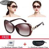 ทบทวน Esogoal ผู้หญิงแว่นตากันแดด Polarized แว่นตากันแดดป้องกันรังสี Uv 100 แถมฟรีกล่องเก็บ Esogoal