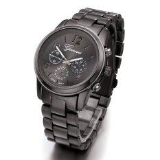 ราคา Etop Ladies Women G*rl Stainless Steel Quartz Wrist Watch 4 Colours Black Intl