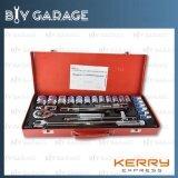 ราคา Euro King Tools ชุดบล็อกเครื่องมือช่าง อเนกประสงค์ แกน 1 2 4 หุุน 24 ชิ้น ลูกบล็อกขนาด 10 11 12 13 14 15 16 17 18 19 20 21 22 23 24 27 30 และ 32Mm Euro King Tools เป็นต้นฉบับ