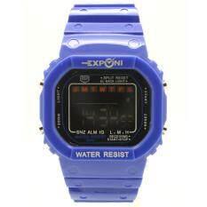 ราคา Exponi นาฬิกาข้อมือผู้ชายและผู้หญิง สายยางและซิลิโคน ระบบดิจิตอล Epl 001 006 ใหม่