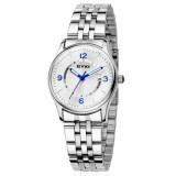 ราคา Eyki นาฬิกาข้อมือผู้ชาย สาย รุ่น Eet8703 White Silver Eyki เป็นต้นฉบับ