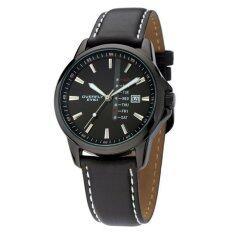 ขาย Eyki Overfly นาฬิกาข้อมือผู้ชาย สีดำ สายหนัง รุ่น Eov8481G Eyki ถูก