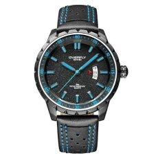 ราคา Eyki Overfly นาฬิกาข้อมือชายสายหนัง Eqw5635L B สีดำ เป็นต้นฉบับ