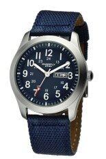 ราคา Eyki Overfly นาฬิกาข้อมือผู้ชาย สีน้ำเงิน สายผ้า รุ่น Mn W8479G Eyki เป็นต้นฉบับ