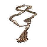 ราคา Fang Fang Long Pendant Chain Necklace Gold ออนไลน์