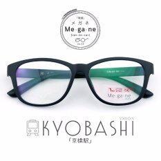 ทบทวน Fashion แว่นตา กรองแสง แฟชั่น รุ่น Kyobashi กรอบดำล้วน ฟรี กล่องใส่แว่น ผ้าเช็ดแว่น