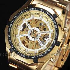 ซื้อ Fashion Gold Men S Watches Famous Luxury Brand Military Automatic Watches Men Mechanical Watch Intl ถูก จีน