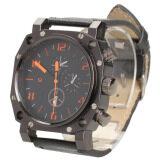 ราคา Fashion Men Faux Leather Strap Watch Sport Quartz Wrist Watch Black Intl ใหม่ ถูก