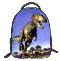 ซื้อ Fashion Novelty Kids Cool Dinosaur Backpack Children Sch**l Bag Intl ใหม่