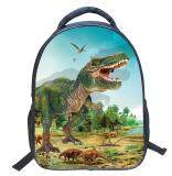ขาย Fashion Novelty Kids Cool Dinosaur Backpack Children Sch**l Bag Intl