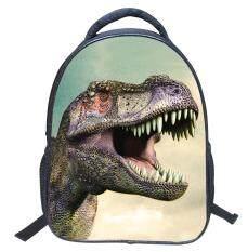 ทบทวน ที่สุด Fashion Novelty Kids Dinosaur Backpack Children Sch**l Bag Intl