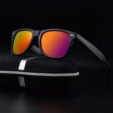 ขาย Fashion Polarized Sunglasses 2017 New Woman Men Brand Designer Retro Sun Glasses Male Eyewear Ray 2140 Black Frame Red Lense Intl