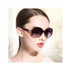 ราคา แว่นตาแฟชั่นผู้หญิง Fashion แว่นกันแดดผู้หญิง กรอบแว่น กรอบแว่นแฟชั่น แว่นตาแฟชั่นสวยๆ สไตล์เกาหลี สีดำ Purple ที่สุด