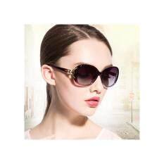 ซื้อ แว่นตาแฟชั่นผู้หญิง Fashion แว่นกันแดดผู้หญิง กรอบแว่นแฟชั่น แว่นตาแฟชั่นสวยๆ สไตล์เกาหลี สีม่วง Purple Unbranded Generic