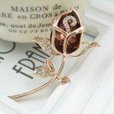 ราคา ราคาถูกที่สุด Fashion Women Noble Lovely Champagne Crystal Individuality Brooch