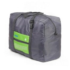 ขาย กระเป๋าเดินทางพับได้ Flight Folding Bag 32L สีฟ้า