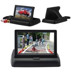 ซื้อ Foldable Auto Car 12V Lcd Tft Rear Car View 4 3 Inch Hd Monitor Screen Playing Intl Elecool ออนไลน์