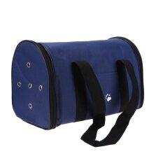 ทบทวน กันน้ำ Oxford Outdoor Dog Carrier Back สีฟ้า S
