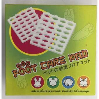 Foot Care Pad แผ่นรองพื้นเพื่อสุขภาพเท้า สำหรับสัตว์เลี้ยง บรรจุ 6 แผ่น (2 Units)