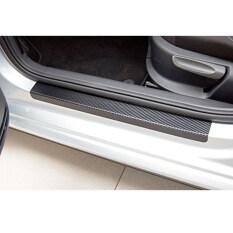 ขาย For Ford Fiesta Focus Ecosport Escape Everest Explorer Expeniton Ranger St S Max Mondeo Mustang Kuga Fiesta Car Door Sill Scuff Welcome Pedal Threshold Carbon Fiber Protect Stickers 4Pcs Car Styling Black Vinyl Sticker Intl เป็นต้นฉบับ