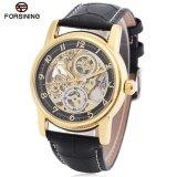 ขาย Forsining F042603 Men Auto Mechanical Watch Luminous Display Hollow Out Dial Wristwatch Intl Forsining เป็นต้นฉบับ