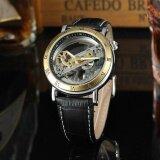 ส่วนลด Forsining Luxury Skeleton Automatic Mechanical Men Watch Self Wind Stainless Steel Genuine Leather Man Business Wristwatch Masculino Relogio Box Intl Unbranded Generic ใน ฮ่องกง