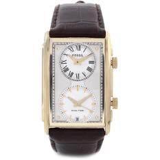 ราคา Fossil Fs4783 นาฬิกาข้อมือผู้ชาย สายหนัง สีน้ำตาล ใน Thailand