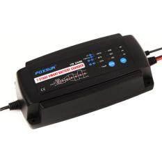 ขาย Foxsur รุ่น Fbc1208 เครื่องชาร์จแบตเตอรี่รถยนต์ 12V อัจฉริยะ Smart Battery Charger For Car เครื่องชาร์จฟื้นฟูแบตเตอรี่รถยนต์ เครื่องสลายซัลเฟตแบตเตอรี่ Battery Desulfator Foxsur ใน ไทย