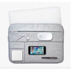 ราคา Free Charging Cable High Quality 13 Inch Laptop Sleeve Case For Apple Macbook Air Computer Carrying Bags Grey Intl ออนไลน์