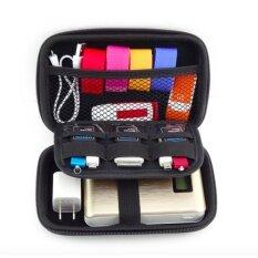 ซื้อ Free Data Cable Waterproof 2 5 Inch Travel Electronics Digital Gadgets Organizer Bag Storage Hard Case Red Intl Unbranded Generic