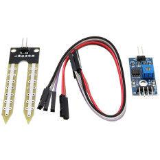ขาย Freebang ใหม่ 2 ชิ้นดินเครื่องตรวจจับความชื้นโมดูลสำหรับ Arduino Smart สนามบินนานาชาติ ออนไลน์
