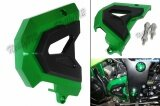 ขาย ซื้อ Front Sprocket Chain Guard Cover Left Side Engine For Kawasaki Ninja 250 300 Ex250 Ex300 2013 2014 2015 2016 Green Intl