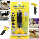 ขาย ซื้อ ออนไลน์ Furminator Deshedding Brush Tool For Dog Cat Random Color