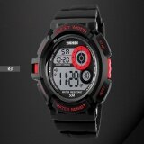 โปรโมชั่น แบรนด์นาฬิกา G สไตล์สปอร์ตนาฬิกาแฟชั่นสบาย ๆ Led แสงสีดำนาฬิกากระแทกดิจิตอลนาฬิกาข้อมือบุรุษกีฬา Watches1222 นานาชาติ