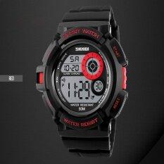 ขาย แบรนด์นาฬิกา G สไตล์สปอร์ตนาฬิกาแฟชั่นสบาย ๆ Led แสงสีดำนาฬิกากระแทกดิจิตอลนาฬิกาข้อมือบุรุษกีฬา Watches1222 นานาชาติ Skmei เป็นต้นฉบับ